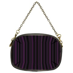 Lines pattern Chain Purses (Two Sides)