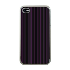 Lines pattern Apple iPhone 4 Case (Clear)