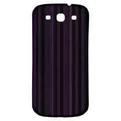 Lines pattern Samsung Galaxy S3 S III Classic Hardshell Back Case