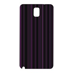Lines pattern Samsung Galaxy Note 3 N9005 Hardshell Back Case
