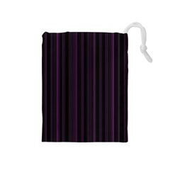Lines pattern Drawstring Pouches (Medium)