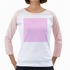 Lines pattern Girly Raglans