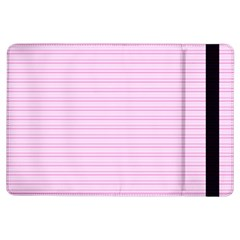 Lines pattern iPad Air Flip