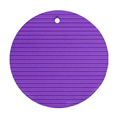 Lines pattern Ornament (Round)