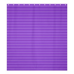 Lines pattern Shower Curtain 66  x 72  (Large)