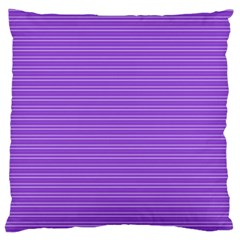 Lines pattern Large Cushion Case (One Side)