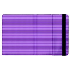 Lines pattern Apple iPad 3/4 Flip Case