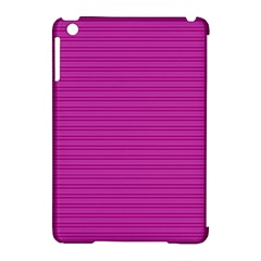 Lines pattern Apple iPad Mini Hardshell Case (Compatible with Smart Cover)