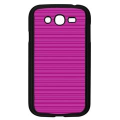 Lines pattern Samsung Galaxy Grand DUOS I9082 Case (Black)