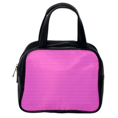 Lines pattern Classic Handbags (One Side)