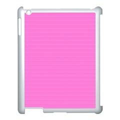 Lines pattern Apple iPad 3/4 Case (White)