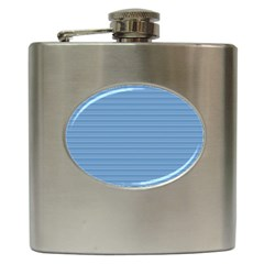 Lines pattern Hip Flask (6 oz)