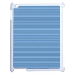 Lines pattern Apple iPad 2 Case (White)