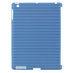 Lines pattern Apple iPad 3/4 Hardshell Case (Compatible with Smart Cover)