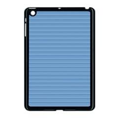 Lines pattern Apple iPad Mini Case (Black)