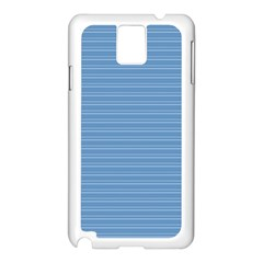Lines pattern Samsung Galaxy Note 3 N9005 Case (White)
