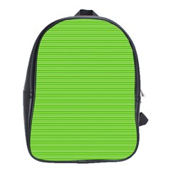 Lines pattern School Bags (XL)