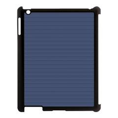 Lines pattern Apple iPad 3/4 Case (Black)