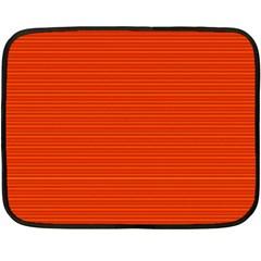 Lines pattern Double Sided Fleece Blanket (Mini)