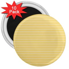 Lines pattern 3  Magnets (10 pack)