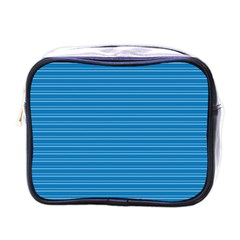 Lines pattern Mini Toiletries Bags