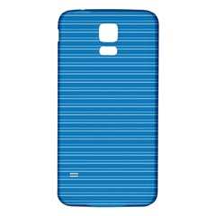 Lines pattern Samsung Galaxy S5 Back Case (White)
