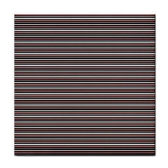 Lines pattern Tile Coasters