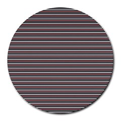Lines pattern Round Mousepads