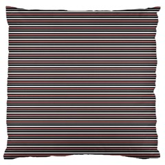 Lines pattern Large Cushion Case (Two Sides)