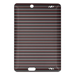 Lines pattern Amazon Kindle Fire HD (2013) Hardshell Case