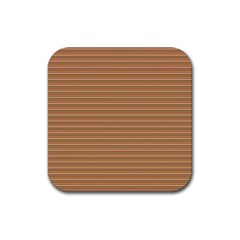 Lines pattern Rubber Coaster (Square)