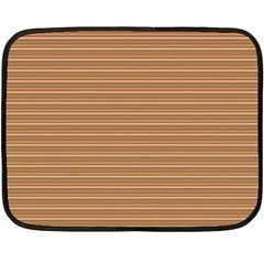 Lines pattern Fleece Blanket (Mini)