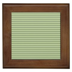Lines pattern Framed Tiles