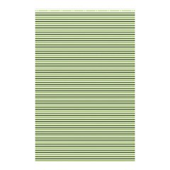 Lines pattern Shower Curtain 48  x 72  (Small)