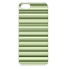 Lines pattern Apple iPhone 5 Seamless Case (White)