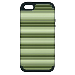 Lines pattern Apple iPhone 5 Hardshell Case (PC+Silicone)
