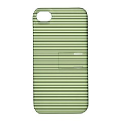 Lines pattern Apple iPhone 4/4S Hardshell Case with Stand