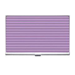 Lines pattern Business Card Holders