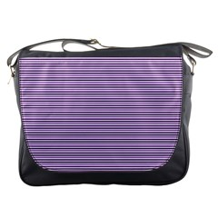 Lines pattern Messenger Bags
