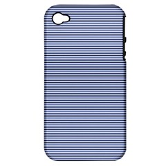 Lines pattern Apple iPhone 4/4S Hardshell Case (PC+Silicone)