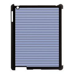 Lines pattern Apple iPad 3/4 Case (Black)
