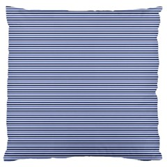 Lines pattern Large Flano Cushion Case (One Side)