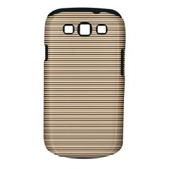 Lines Pattern Samsung Galaxy S Iii Classic Hardshell Case (pc+silicone)