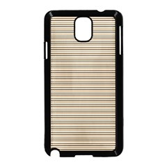 Lines pattern Samsung Galaxy Note 3 Neo Hardshell Case (Black)