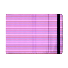 Lines pattern Apple iPad Mini Flip Case
