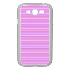Lines pattern Samsung Galaxy Grand DUOS I9082 Case (White)