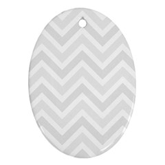 Zigzag  pattern Ornament (Oval)