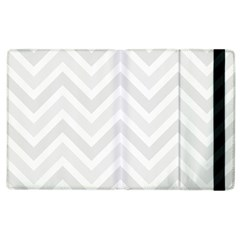 Zigzag  pattern Apple iPad 3/4 Flip Case
