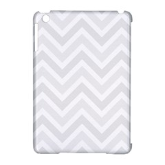 Zigzag  pattern Apple iPad Mini Hardshell Case (Compatible with Smart Cover)