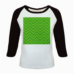 Zigzag  pattern Kids Baseball Jerseys